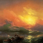 The Ninth Wave. Ivan Konstantinovich AIVAZOVSKY
