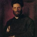 I.N. Kramskoi. Portrait of M.M. ANTOKOLSKY