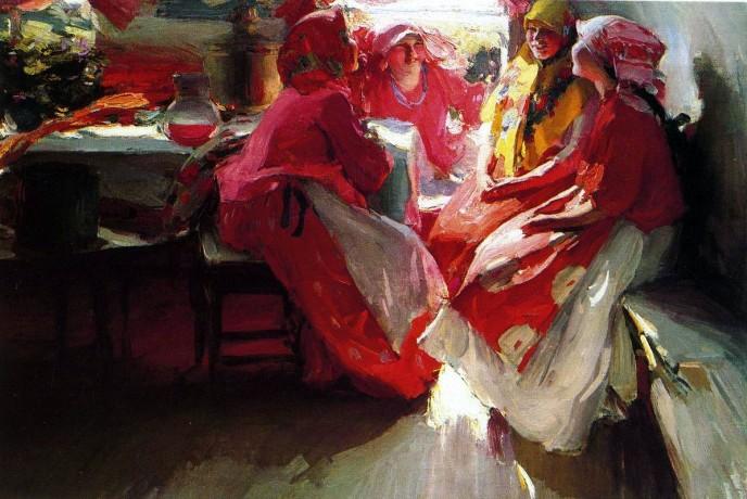 The Guests. Abram Yefimovich ARKHIPOV