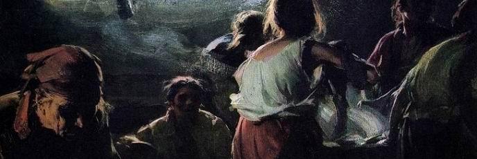 The Washer-Women. Abram Yefimovich ARKHIPOV
