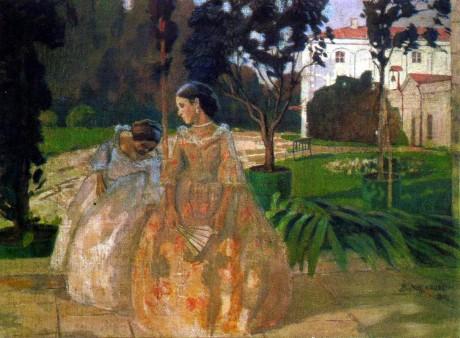 Tapestry. Viktor Elpidiforovich BORISOV-MUSATOV