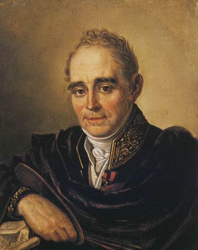 I.V. Bugayevsky-Blagodarny. Portrait of V. L. Borovikovsky