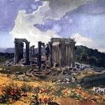 The Temple of Apollo the Epicurean. Karl Pavlovich BRYULLOV