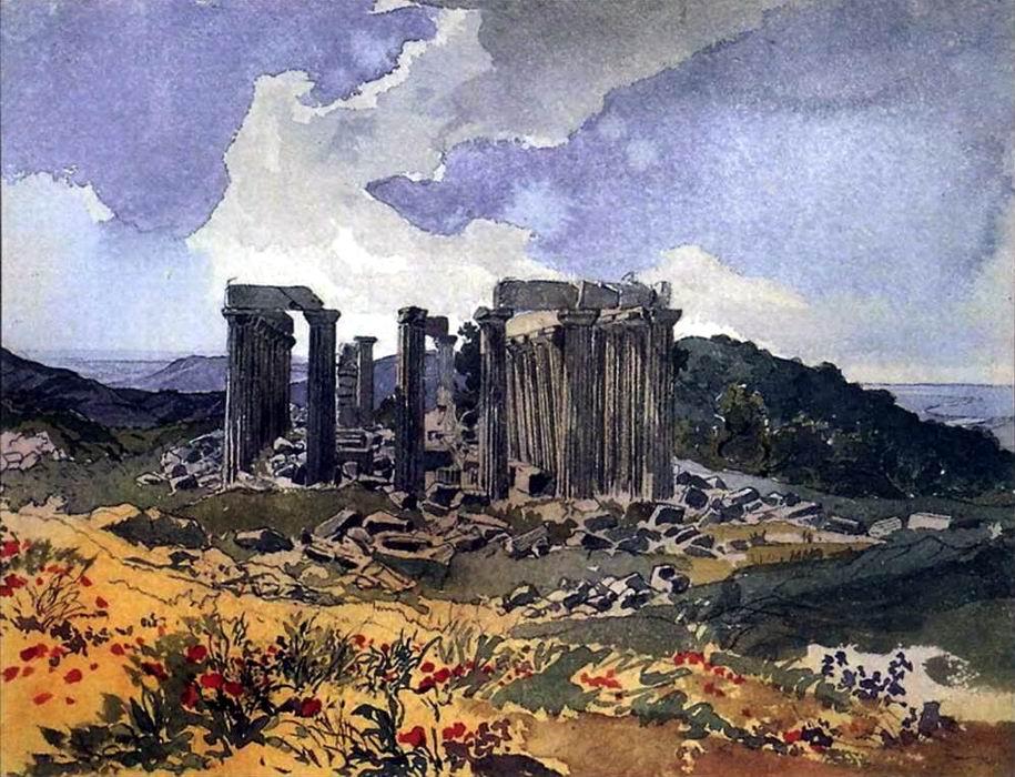The Temple of Apollo the Epicurean. Karl Pavlovich ...