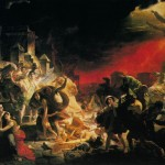 The Last Day of Pompeii. Karl Pavlovich BRYULLOV
