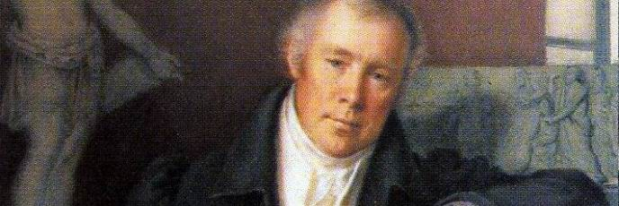 M.I. Terebenev. Portrait of V.I. DEMUT-MALINOVSKY