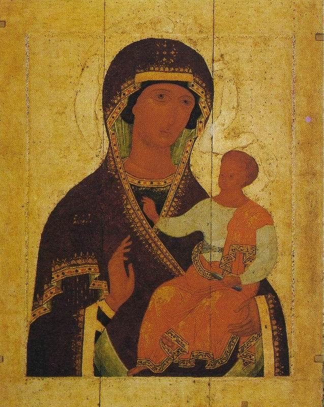 Holy Virgin (Hodegitria). DIONYSIUS