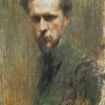 Self-Portrait. Mstislav Valerianovich DOBUZHINSKY
