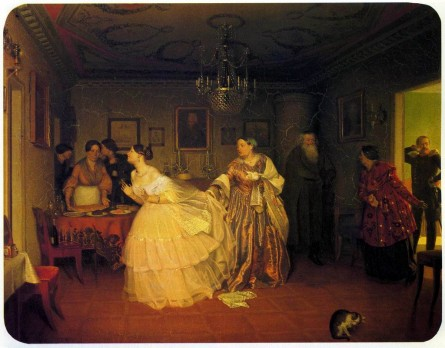 The Major's Marriage Proposal. Pavel Andreyevich FEDOTOV