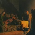 The Last Supper. Nikolai Nikolayevich GHE