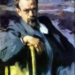 O. E. Braz. Portrait of S. V. Ivanov