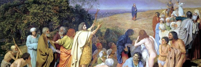 Christ's Appearance to the People. Alexander Andreyevich IVANOV