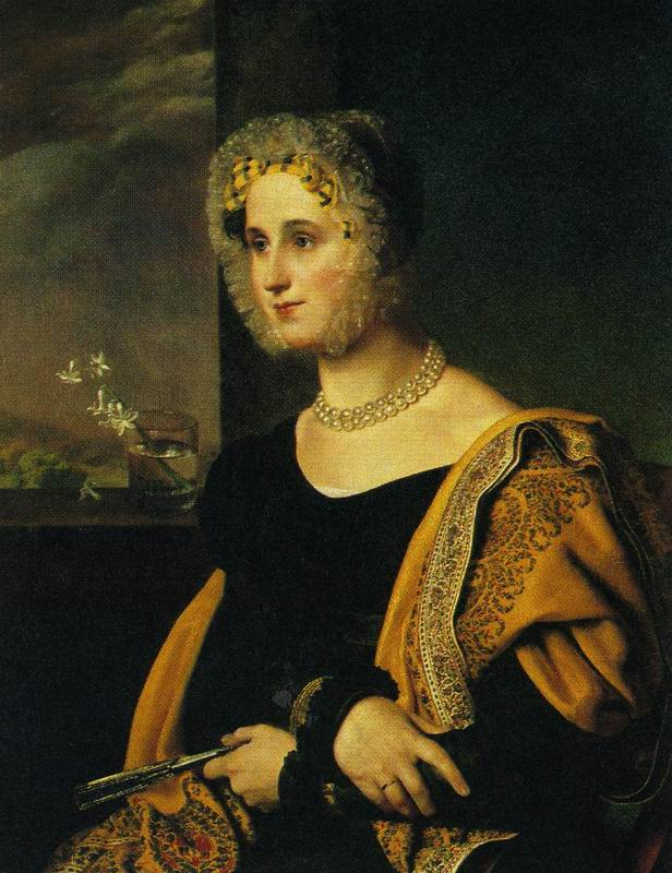 Portrait of Ye.S. Avdulina. Orest Adamovich KIPRENSKY