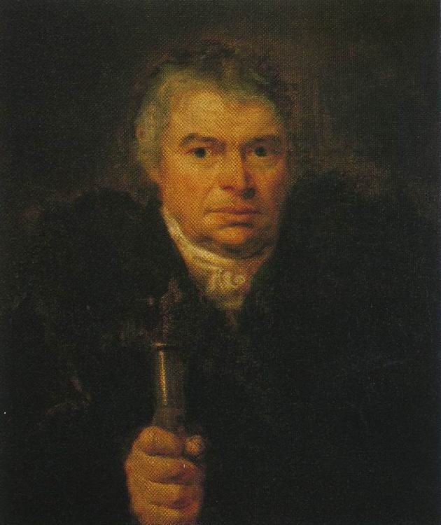 Portrait of A.K. Schwalbe. Orest Adamovich KIPRENSKY
