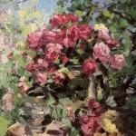 Flowers. Konstantin Alexeyevich KOROVIN