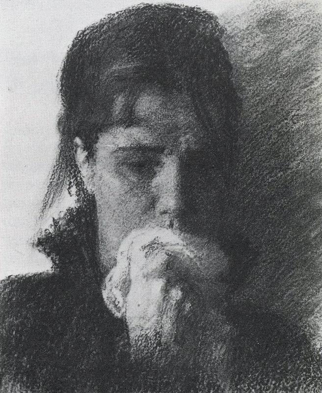 Woman in Tears. Ivan Nikolayevich KRAMSKOI