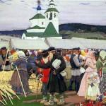 The Fair. Boris Mikhailovich KUSTODIEV