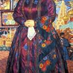 The Merchant's Wife. Boris Mikhailovich KUSTODIEV