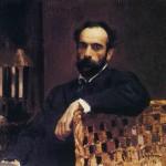 V. A. Serov. Portrait of I. I. Levitan