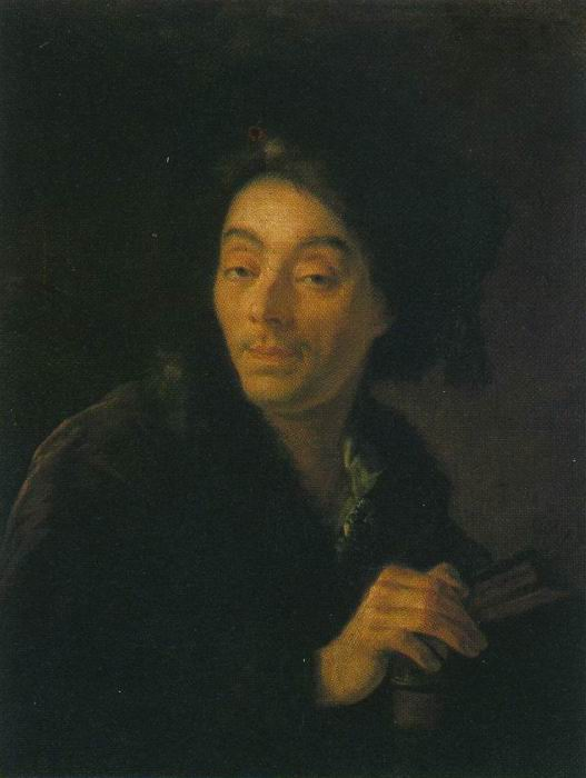 Portrait of the Actor Yakov Shumsky. Anton Pavlovich LOSENKO
