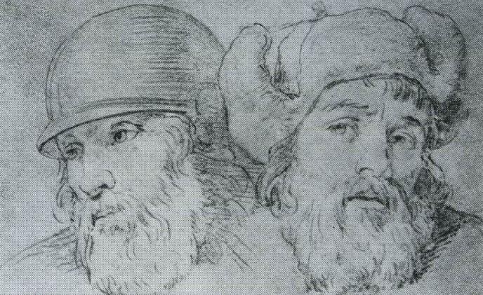 Warriors' Heads. Anton Pavlovich LOSENKO