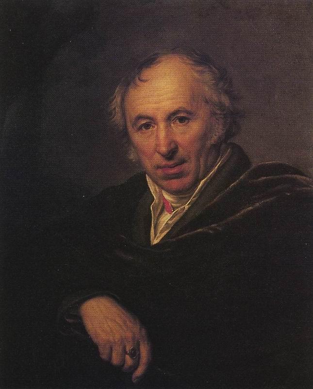 Portrait of Ivan Petrovich MARTOS. A.G. Varnek