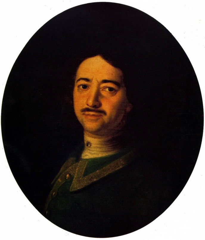 Portrait of Peter the Great. Ivan Nikitich NIKITIN