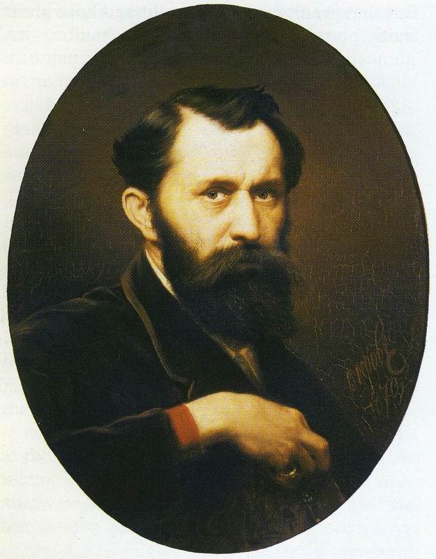 Self-Portrait. Vasily Grigorievich PEROV