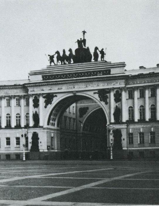 Arch of the General Staff. Stepan Stepanovich PIMENOV