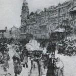 Nevsky Prospekt. Ilya Yefimovich REPIN