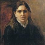 Portrait of P. A. Strepetova. Ilya Yefimovich REPIN