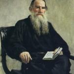 Portrait of L. N. Tolstoy. Ilya Yefimovich REPIN