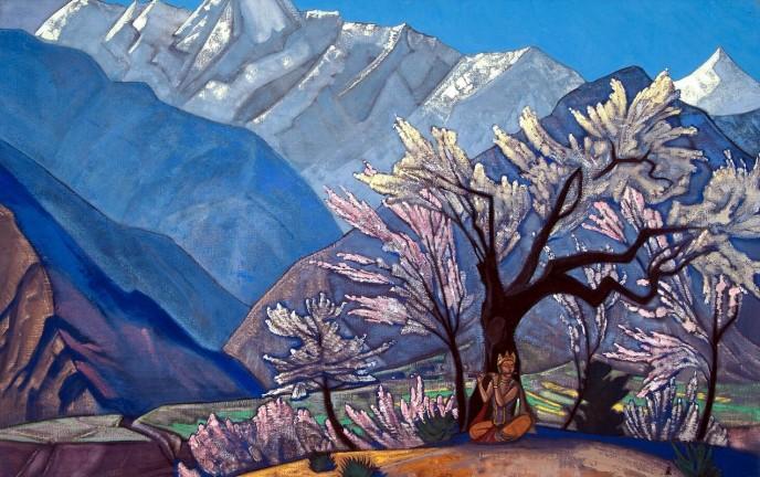 Krishna (Spring in Kulu). Nikolay ROERICH