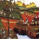 Slavs on the Dnieper. Nikolay ROERICH