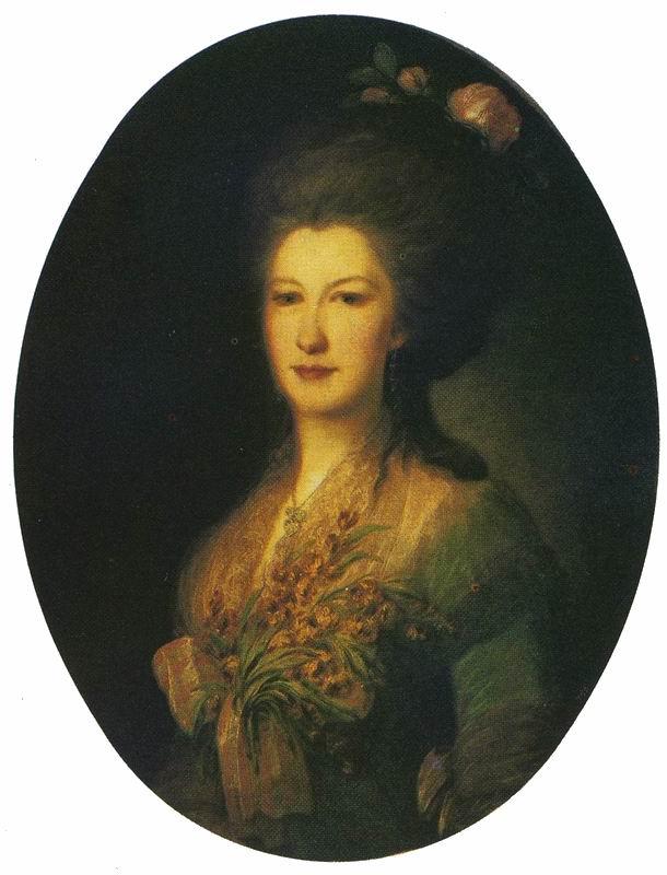 Portrait of Ye.V. Santi. Fyodor Stepanovich ROKOTOV