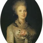 Portrait of V.N. Surovtseva. Fyodor Stepanovich ROKOTOV