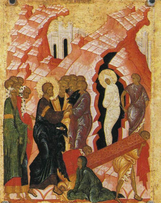 Rasing of Lazarus. Andrei RUBLYOV