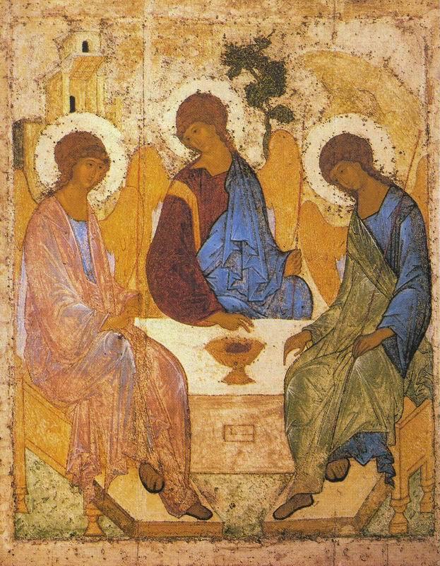 The Holy Trinity. Andrei RUBLYOV