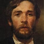 Self-Portrait. Andrei Petrovich RYABUSHKIN
