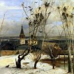 The Rooks Have Come. Alexei Kondratievich SAVRASOV
