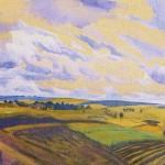 Landscape. Zinaida Yevgenyevna SEREBRYAKOVA