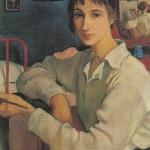 Self-Portrait. Zinaida Yevgenyevna SEREBRYAKOVA