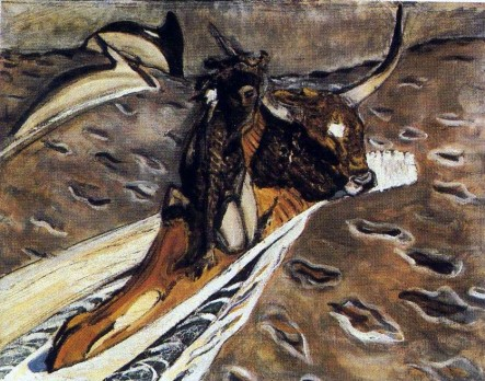 The Abduction of Europa. Valentin Alexandrovich SEROV