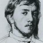 Self-Portrait. Valentin Alexandrovich SEROV