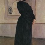 Portrait of M. N. Yermolova. Valentin Alexandrovich SEROV