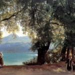 Lake Albano in the Outskirts of Rome. Silvestr Feodosievich SHCHEDRIN