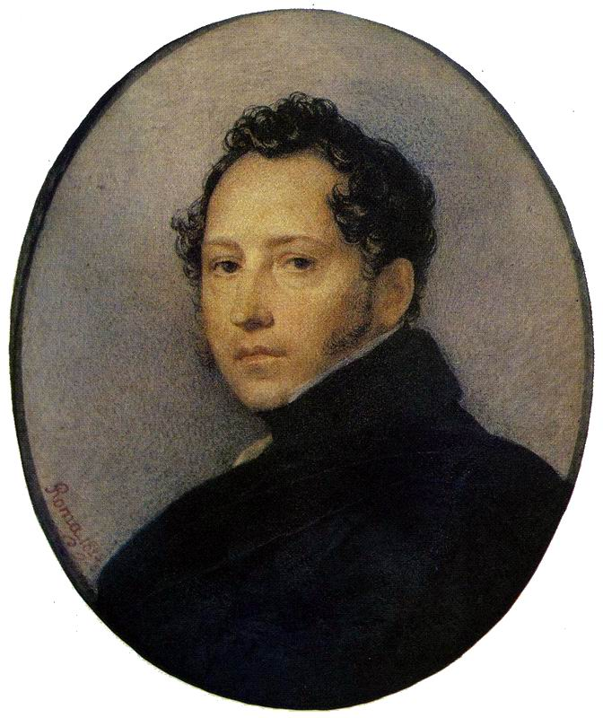 K.P. Bryullov. Portrait of S.F. Shchedrin