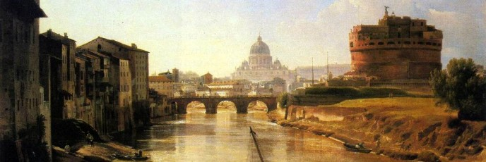 New Rome. Holy Angel Castle. Silvestr Feodosievich SHCHEDRIN