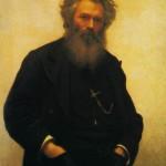 I. N. Kramskoi. Portrait of I. I. Shishkin