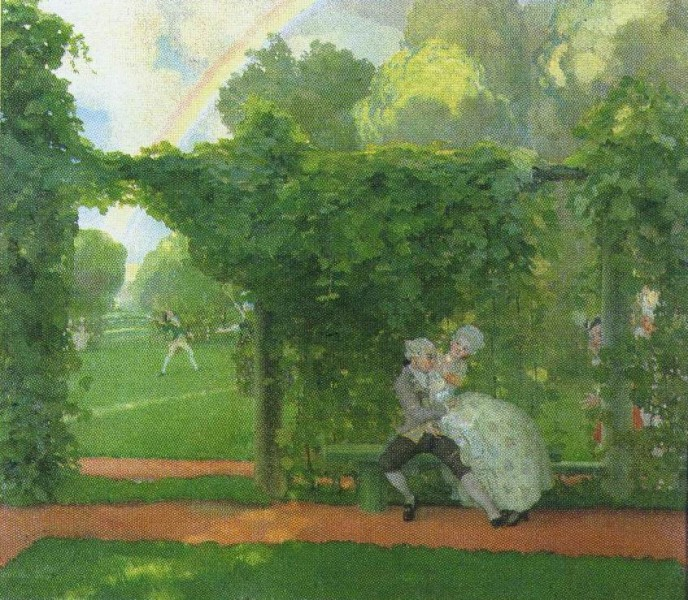 Kisses and Jeers. Konstantin Andreyevich SOMOV